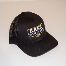 Mesh Curved Bill - Black Hat