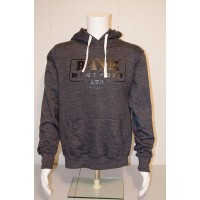 Adult Dark Grey Rank Mini Pony Hooded Sweatshirt